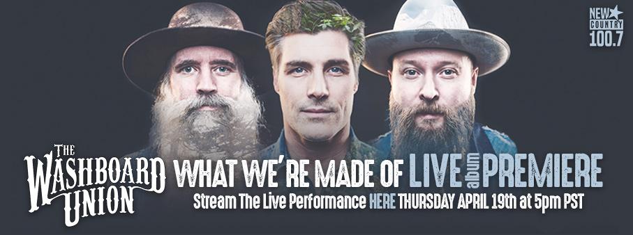 Washboard Union LIVE Album Premiere