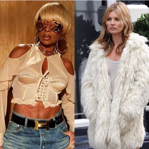 Mary J Blige Broke Up A Fight With...Kate Moss!?!?