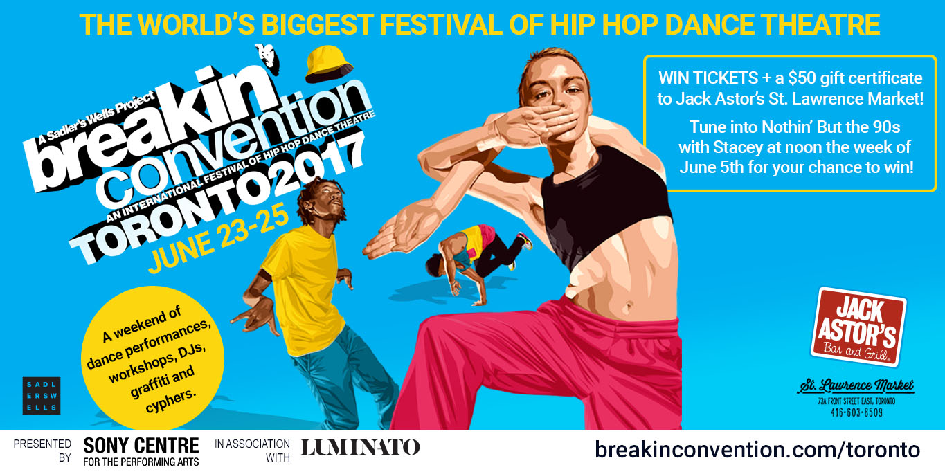 Win a pair of tickets to Breakin' Convention!