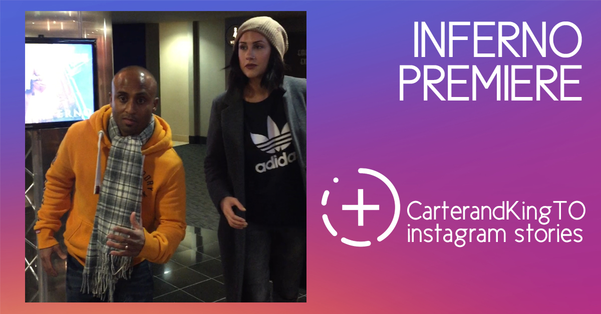 VIDEO: Blake and JJ at the Inferno Screening