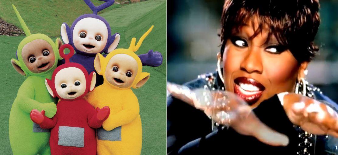 """Missy Elliott Meets The Teletubbies In This """"Get Ur Freak On"""" Mash-Up"""