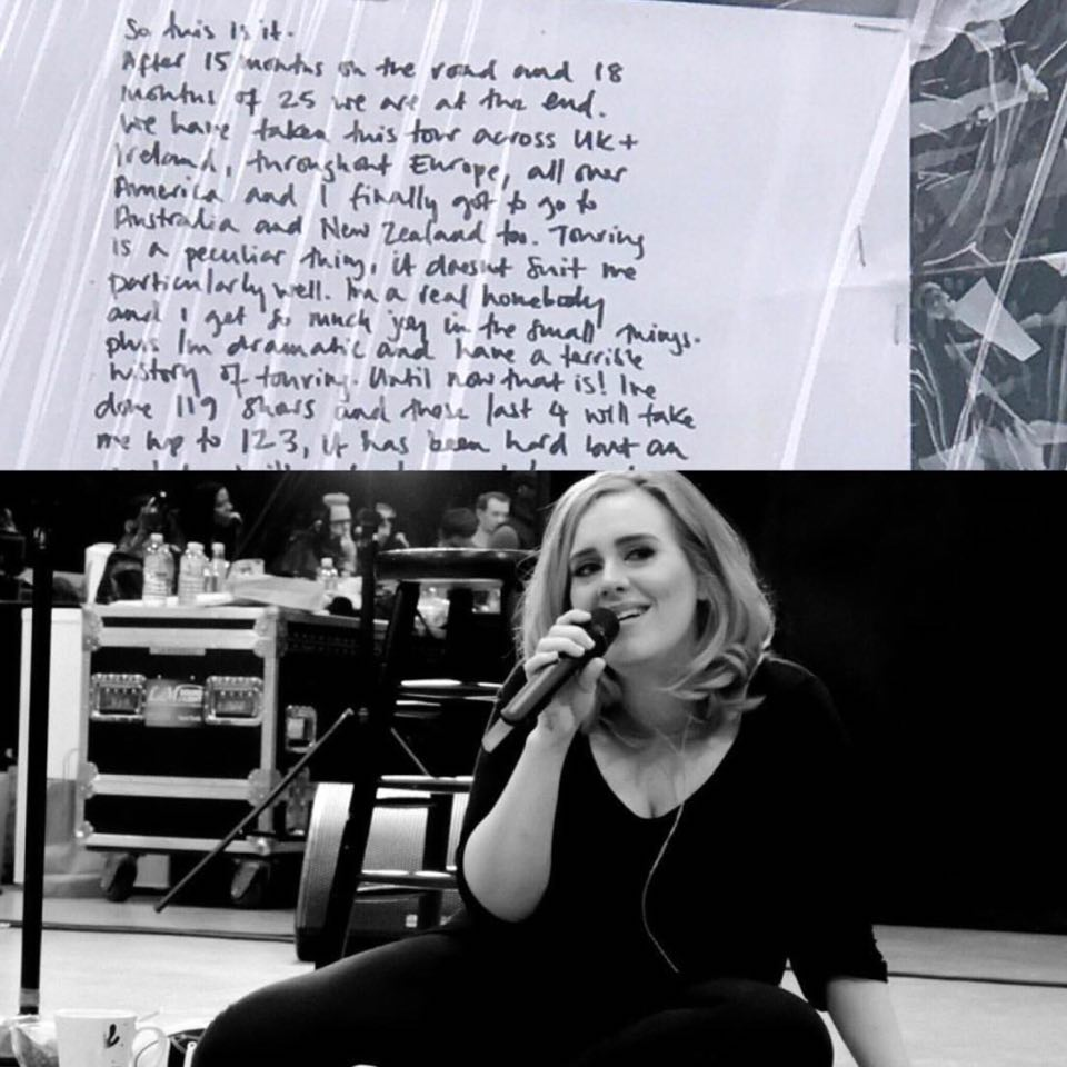 #BlakesTake: Adele Might Never Tour Again