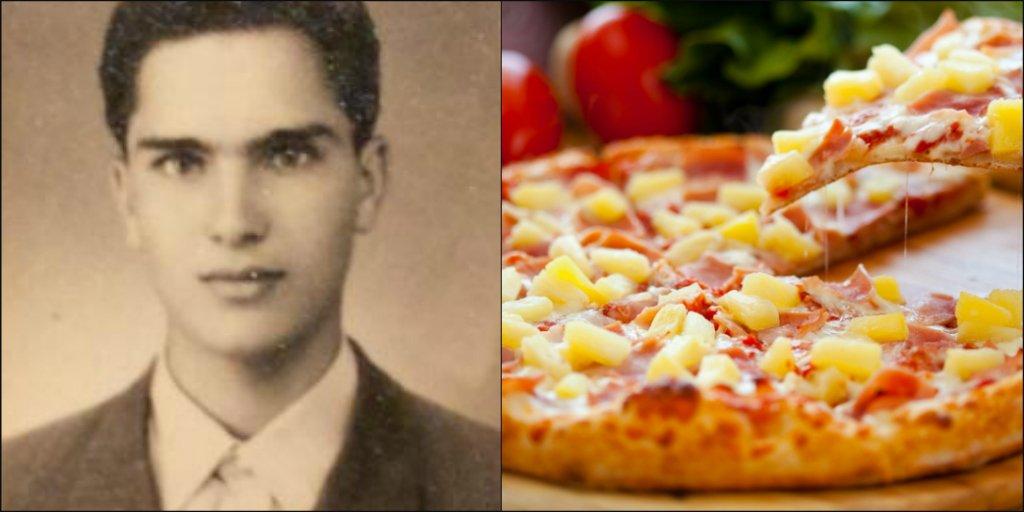 Ontario Man Who Invented Hawaiian Pizza Has Died