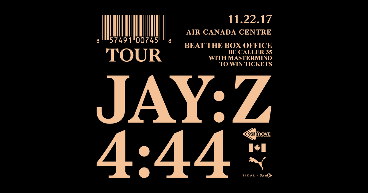 BEAT THE BOX OFFICE – Win Jay-Z Tickets with Mastermind