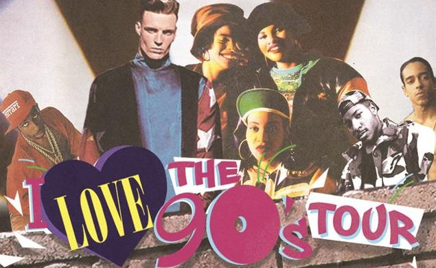 "Old Skool Throwback Lunch  – Listen to win 2 Tickets to ""I love the 90's Tour"""