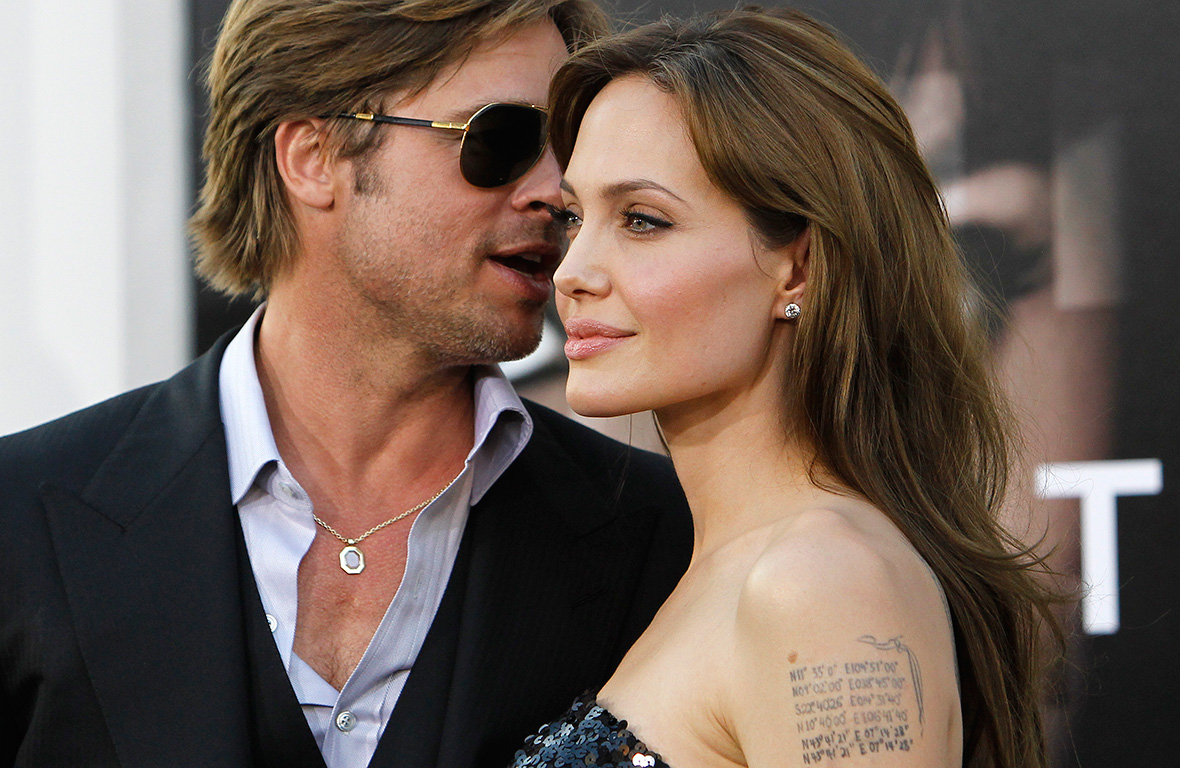 Brad And Angelina Divorce MIGHT Be On Hold