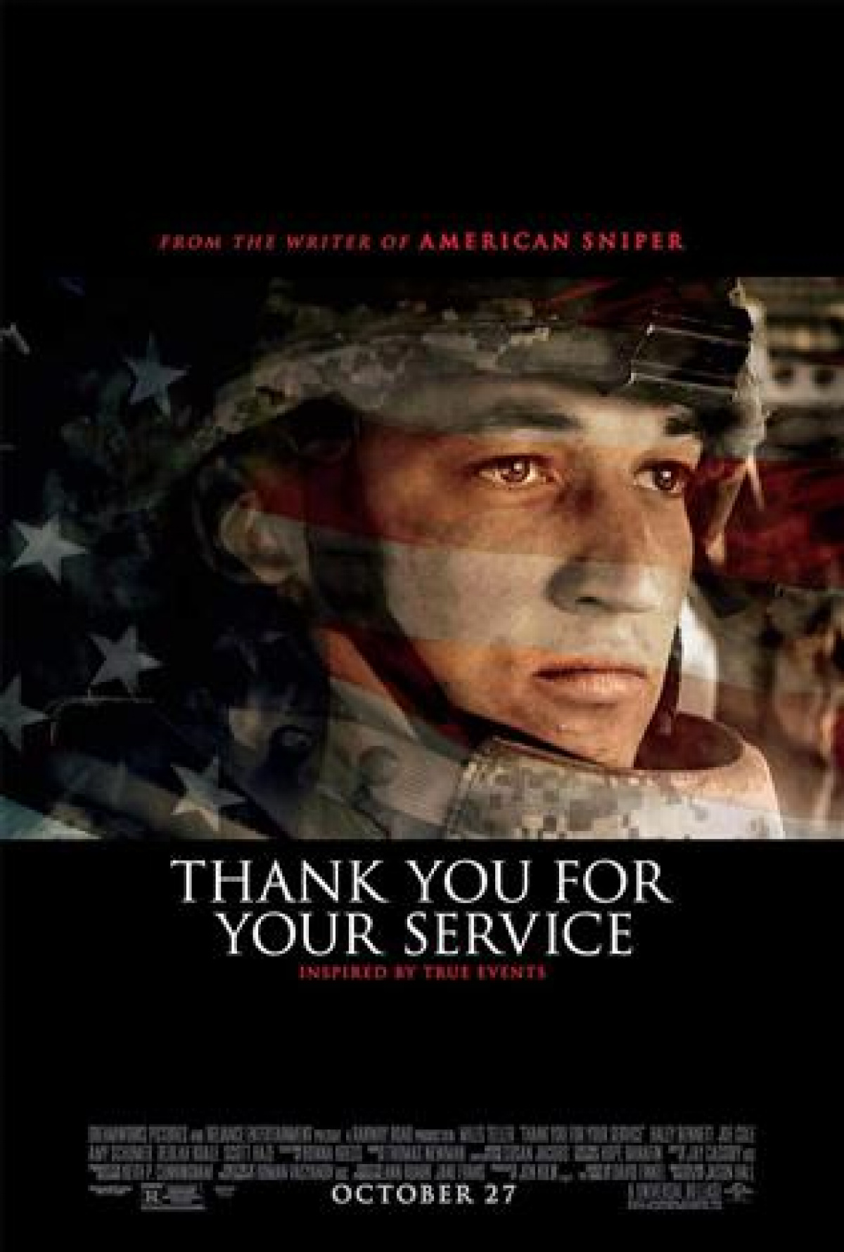 """Listen to Sarah Bartok for your chance to win the Advanced Screening to """"Thank you For Your Service"""""""
