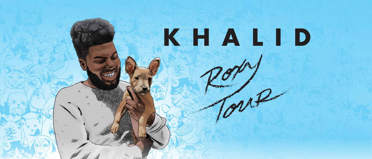 """Listen for your chance to win 2 Tickets to Khalid """"Roxy Tour"""""""
