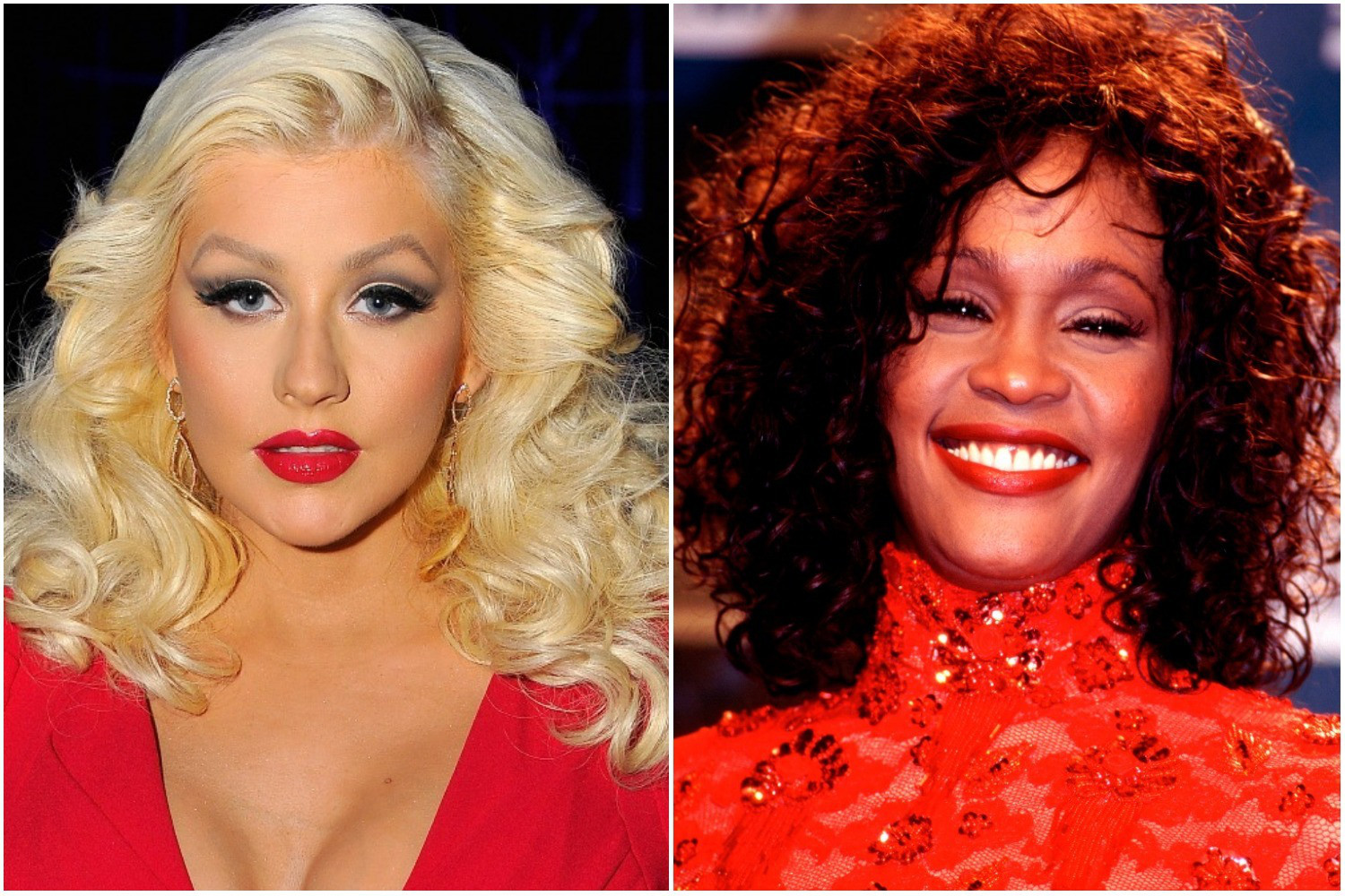 Christina Aguilera Will Perform Whitney Houston Tribute At The AMAs