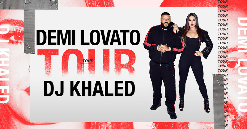 Listen to win 2 Tickets to DJ Khaled Special Guest Demi Lovato