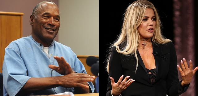 O.J. Simpson Weighs In On That Rumour That He's Khloe Kardashian's Dad