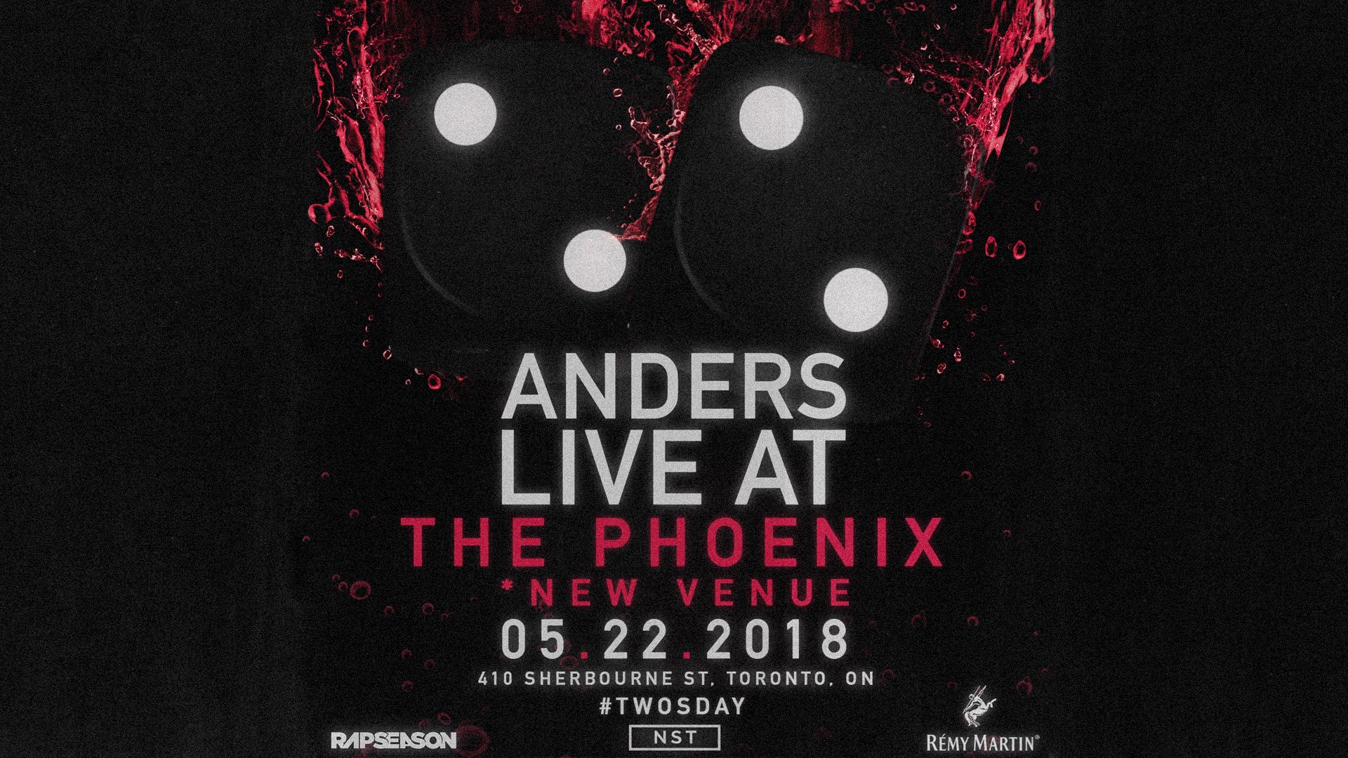 Listen to win 2 Tickets to Anders Live at the Phoenix