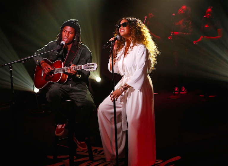 "Daniel Caesar & H.E.R. Perform ""Best Part"" on 'Jimmy Kimmel Live!'"