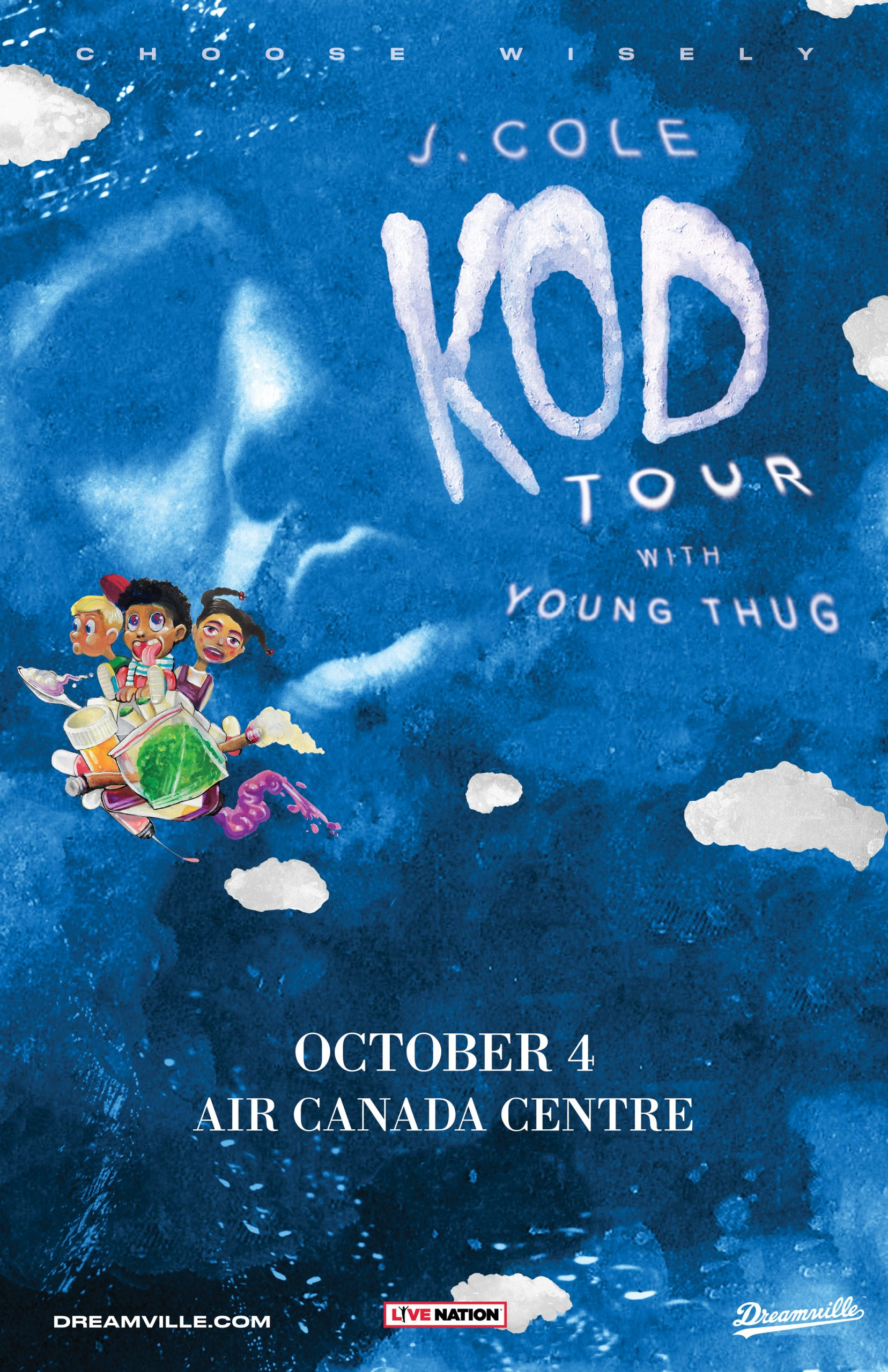 "Listen to win tickets to see J Cole ""KOD"" Tour with special Guest Young Thug"
