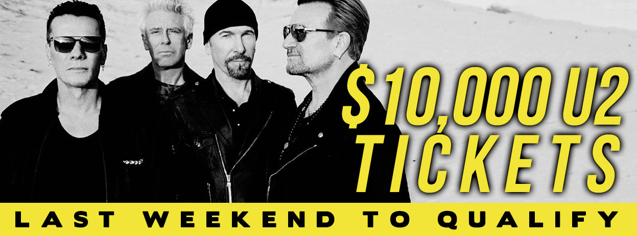 $10,000 U2 Tickets