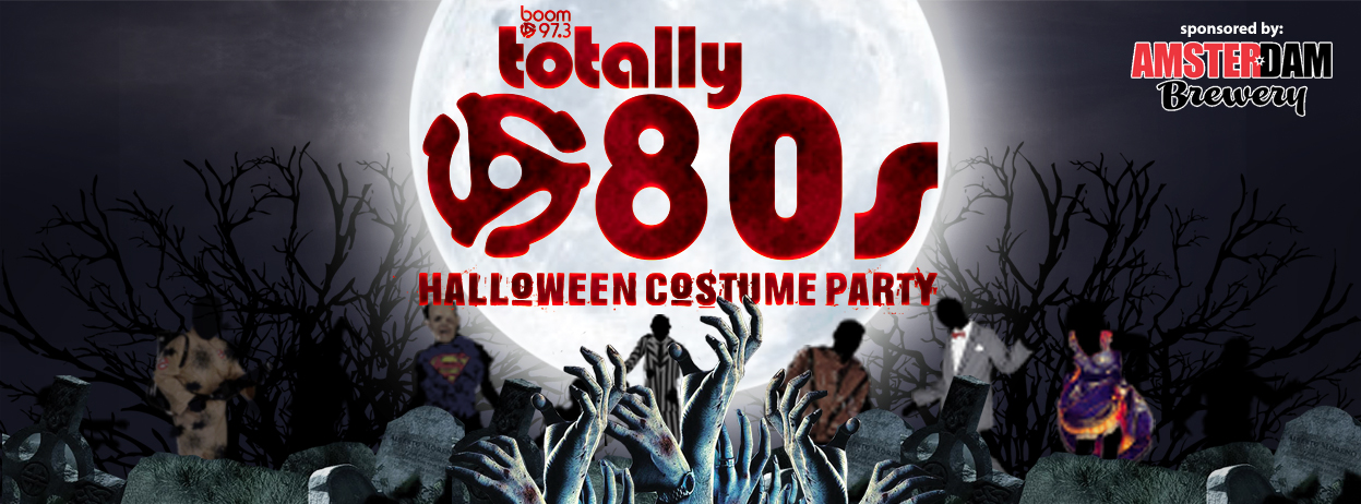 Win Tickets to boom's Totally 80s Halloween Video Dance party