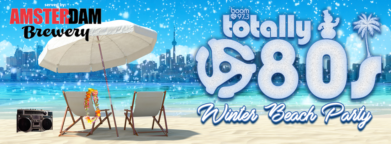 Totally 80's Winter Beach Party