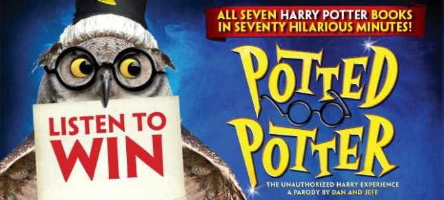boombox Lunch – Win tickets to See Potted Potter