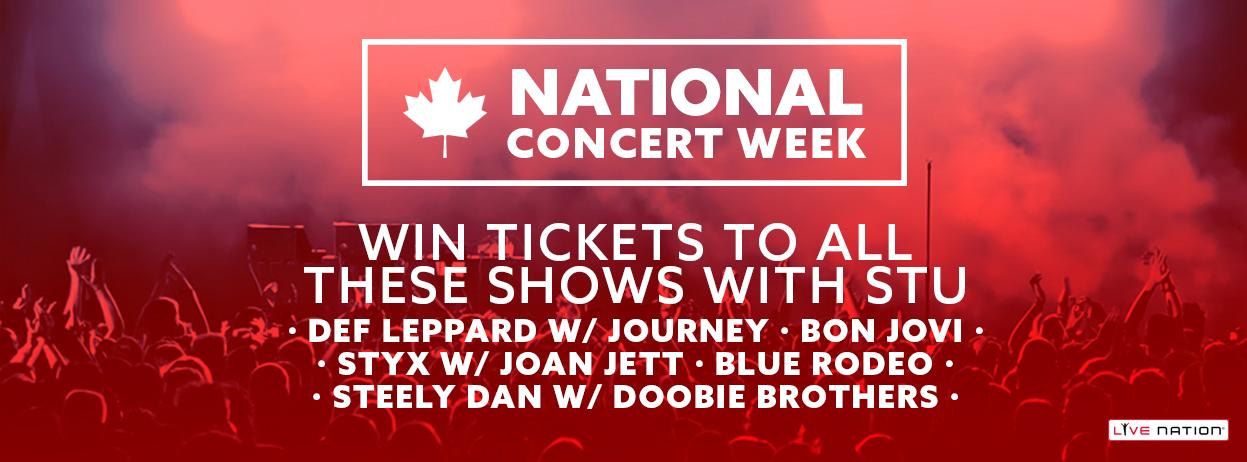 boom Breakfast with Stu – National Concert Week