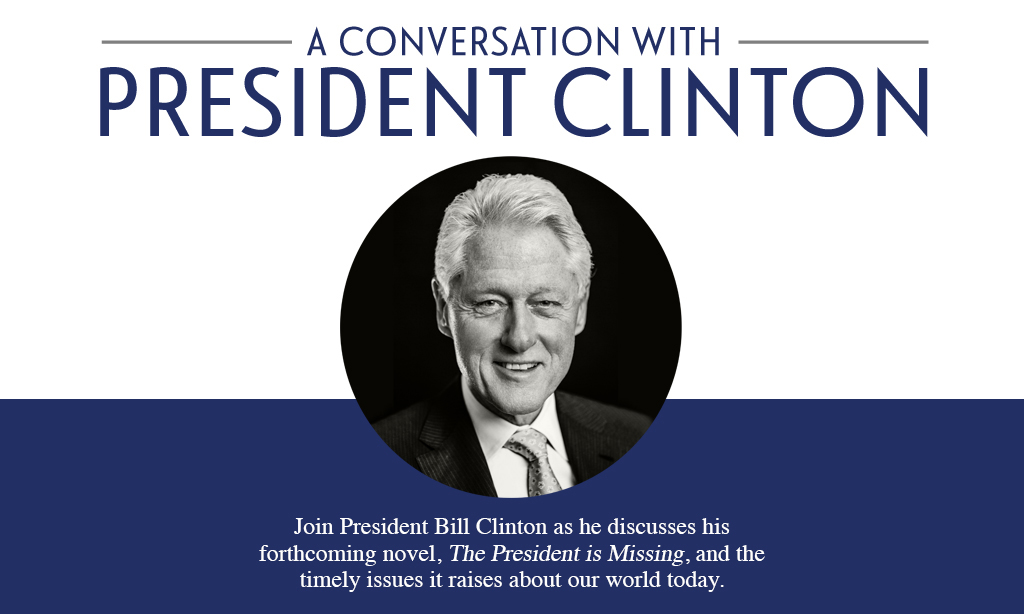 boombox Lunch - Win VIP Tickets to See President Bill Clinton Live in Toronto!