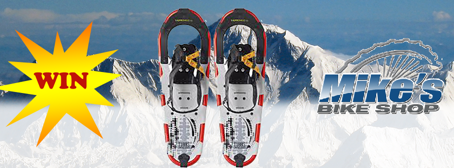 Win Snowshoes from Mike