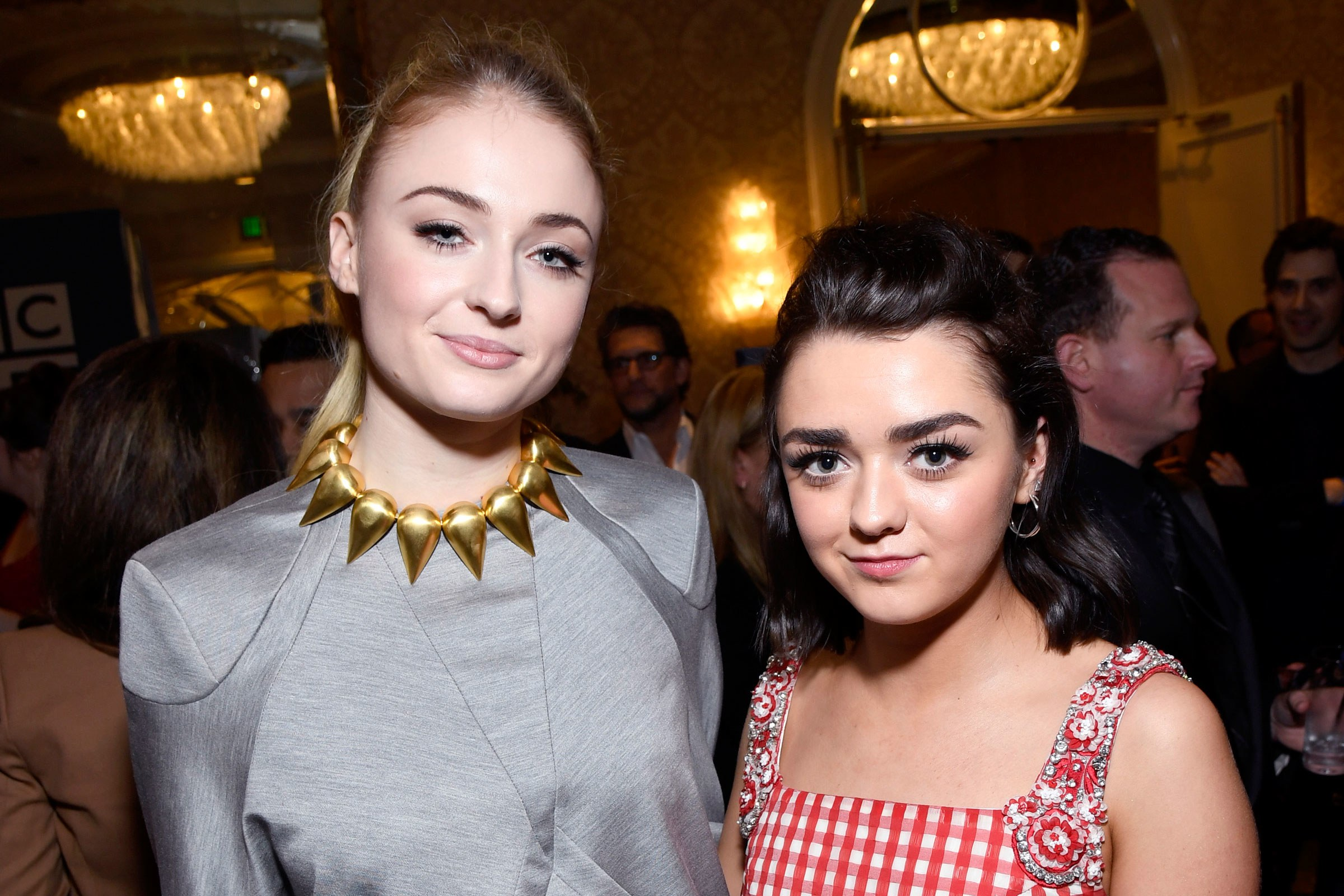 Maisie Williams said YES to Sophie Turner