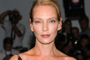 """Uma Thurman On Harvey Weinstein: """"He tried all kinds of unpleasant things""""."""