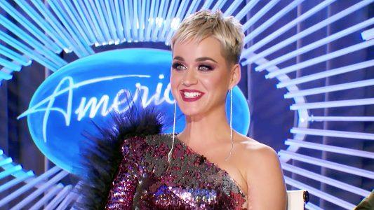 Katy Perry Has Mega Wardrobe Malfunction on Idol