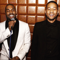 Kanye Shares Text Messages From John Legend on Twitter