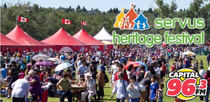 Rewards Club – Servus Heritage Festival: Win Tickets!
