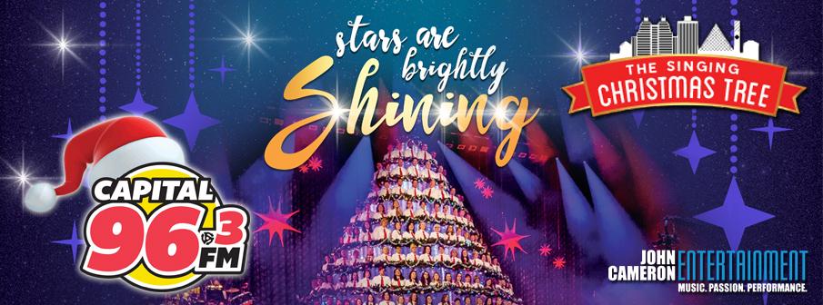Edmonton Singing Christmas Tree