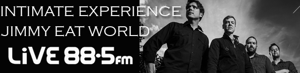 LiVE 88.5 Intimate Experience: Jimmy Eat World