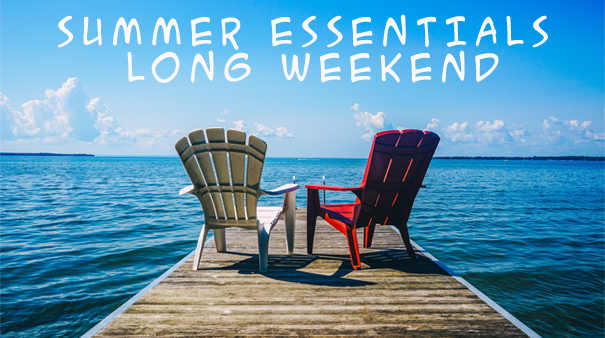 Feature: http://www.live885.com/summer-essentials-long-weekend/