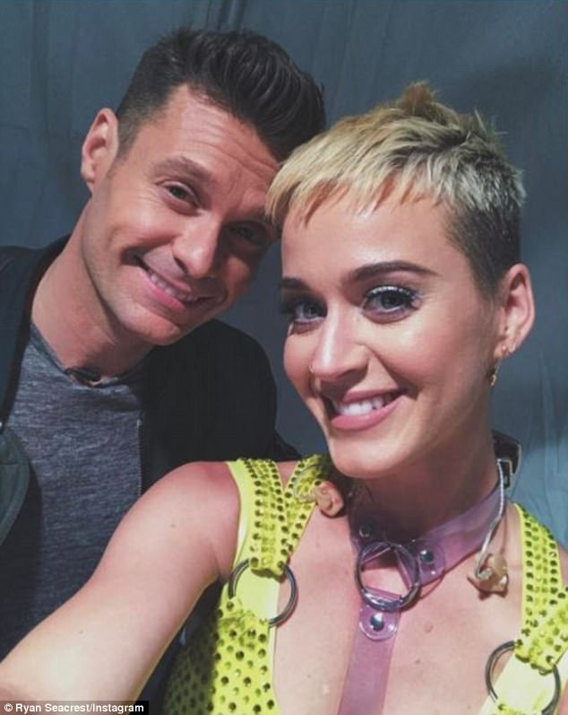 Is There A Beef Between Ryan Seacrest and Katy Perry?