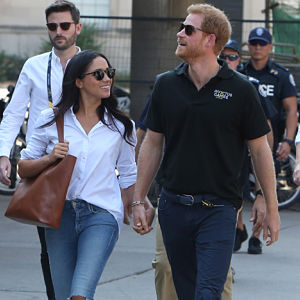 Meghan Markle Supports her BF, Prince Harry at the Invictus Games
