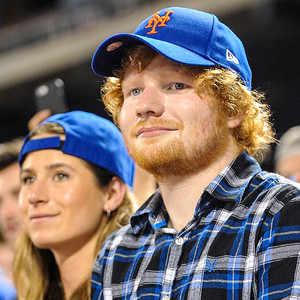 Ed Sheeran's GF, Cherry has to brush his teeth for him.