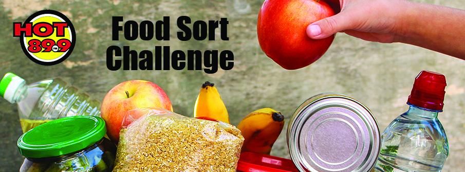 The Food Sort Challenge