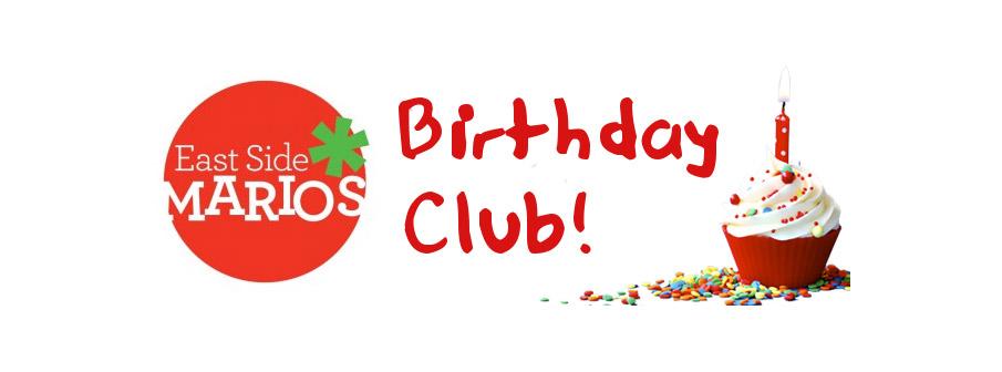 The GIANT Birthday Club!