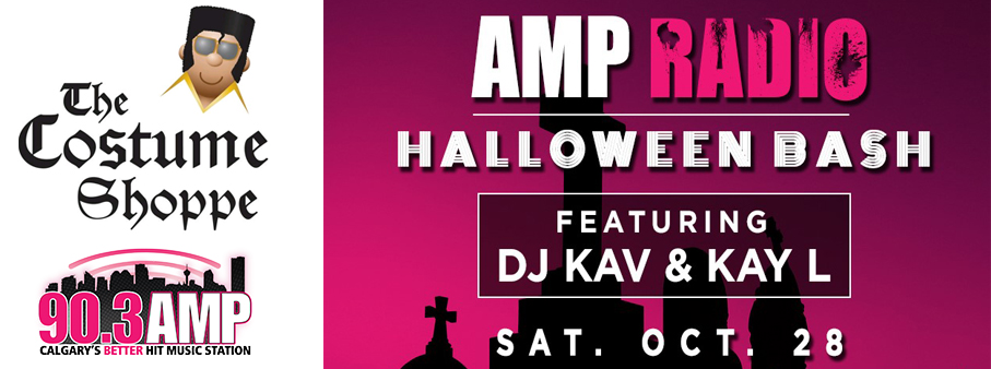 Win your way to AMP Radio's Halloween Bash with a new costume!