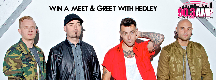 Win a Meet and Greet with Hedley