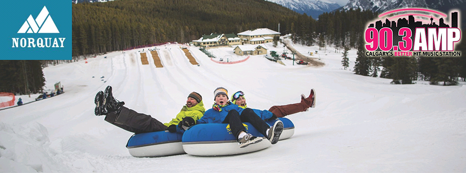 Win Tubing at Mount Norquay