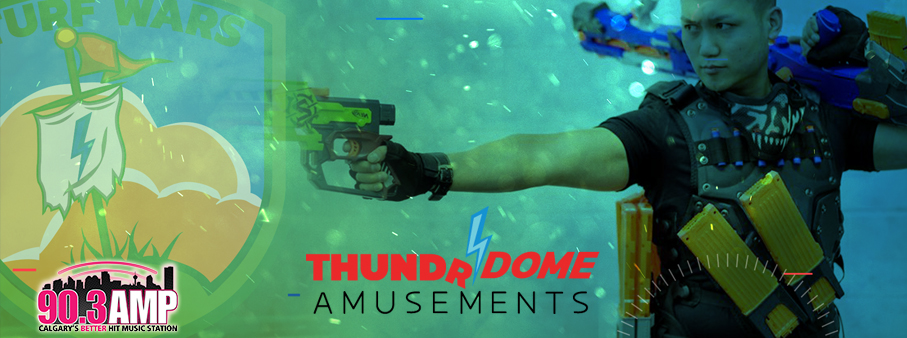 Win your way to Thundrdome Amusements