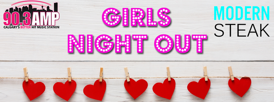 Girls Night Out for Valentine's Day