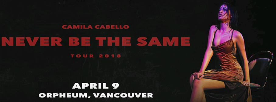 Win your way to Vancouver to see Camila Cabello